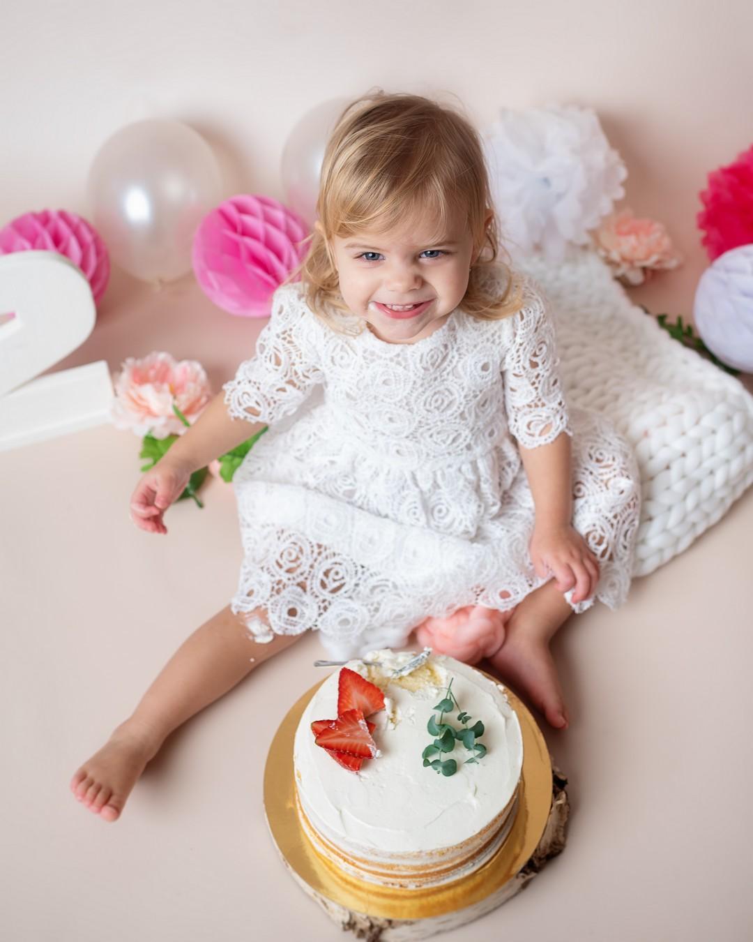 narozeninové focení cake smash Hana Tučková